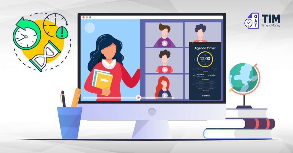 Virtual classroom time management